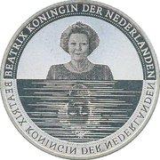 5 Euro - Beatrix (Waterland) – obverse