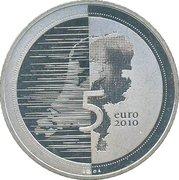 5 Euro - Beatrix (Waterland) – reverse