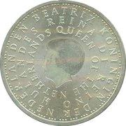 5 Euro - Beatrix (Netherlands Antilles) – obverse