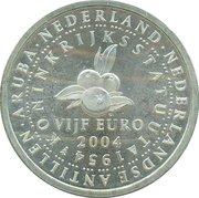 5 Euro - Beatrix (Netherlands Antilles) – reverse