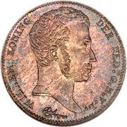 ½ Gulden - Willem I – obverse