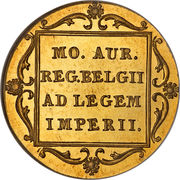 1 Ducat - Willem III (Trade Coinage) – reverse