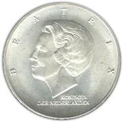10 Gulden - Beatrix (Marshall Plan) – obverse