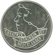 50 Gulden - Beatrix (Maastricht Treaty) – obverse