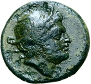 5 Units (Head of Turms; without legend) – obverse