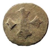 1 Tin Coin (Srivijaya Empire) – obverse