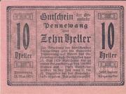10 Heller (Pennewang) -  obverse