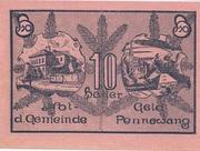 10 Heller (Pennewang) -  reverse