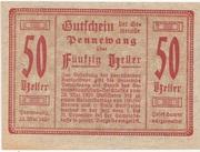 50 Heller (Pennewang) -  obverse