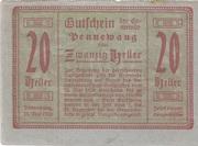 20 Heller (Pennewang) -  obverse