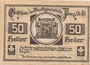 50 Heller (Perg) -  obverse