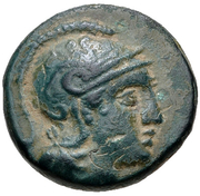 Bronze Æ12- Philetairos – obverse