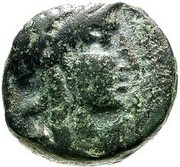 Bronze AE14 - Attalos II – obverse