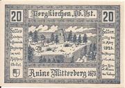 20 Heller (Pergkirchen) -  obverse