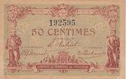 50 centimes - Chambres de Commerce de Périgueux -  obverse