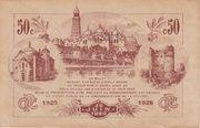 50 centimes - Chambres de Commerce de Périgueux – reverse