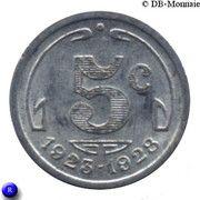 5 Centimes (Périgueux) – reverse