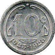 10 Centimes (Périgueux) – reverse