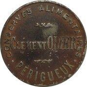 15 Centimes - Cément Obier (Périgueux) – obverse