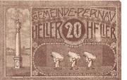20 Heller (Pernau) -  obverse