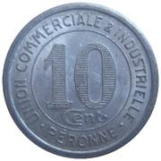 10 Centimes (Péronne) – reverse