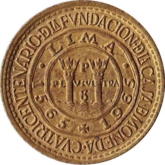 189 Sol De Oro Casa De Moneda Peru Numista