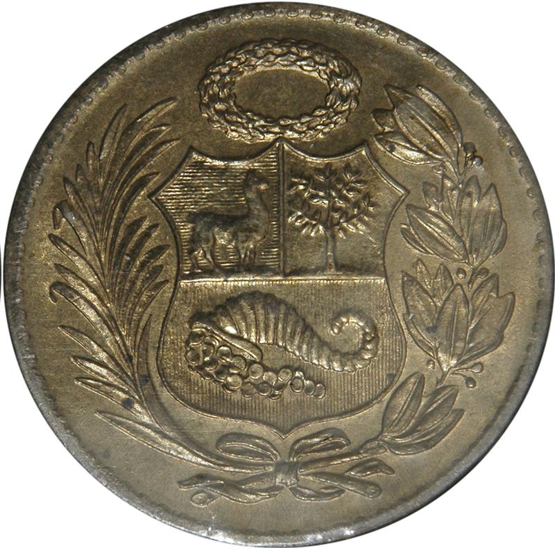 189 Sol De Oro Peru Numista