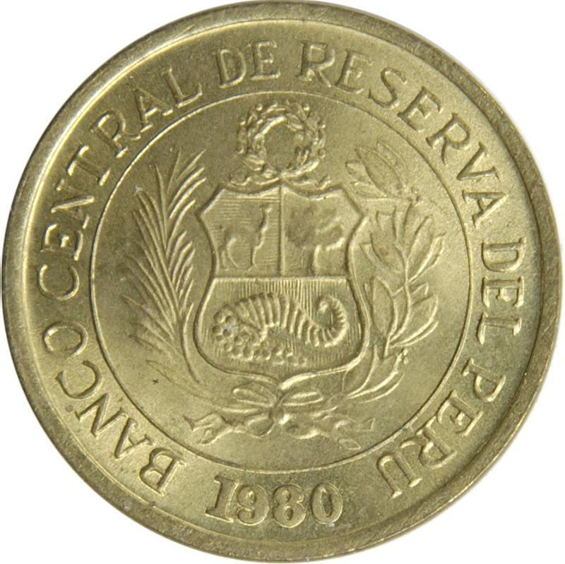 1 Sol De Oro Small Type With Mintmark Peru Numista