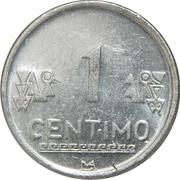1 Céntimo -  reverse