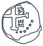 ½ Real - Fernando IV (Monogram) – obverse