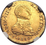 1 Escudo - Fernando VII -  obverse