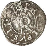 ¼ Real - Felipe II (crown) – obverse