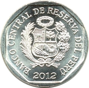 1 Nuevo Sol (Fortress of Real Felipe) -  obverse