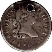¼ Real - Carlos IV (arms) – obverse