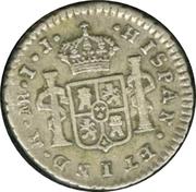 ½ Real - Carlos IV (Carlos III portrait) – reverse