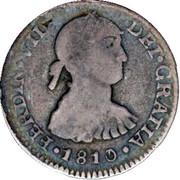 ½ Real - Fernando VII (first type) – obverse