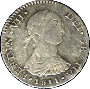 1 Real - Fernando VII (Colonial Milled Coinage) – obverse