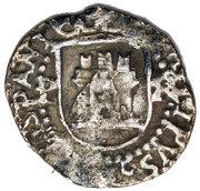 ¼ Real - Felipe II (castle) – obverse
