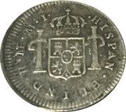½ Real - Carlos III (portrait) – reverse