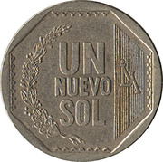 1 Nuevo Sol (1st type) -  reverse