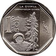 1 Nuevo Sol (Quinoa) -  reverse