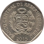 1 Nuevo Sol (450 years Casa Nacional de Moneda) -  obverse
