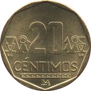 20 Céntimos -  reverse