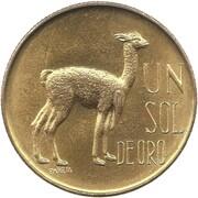 1 Sol de Oro -  reverse