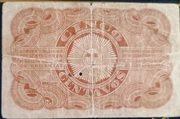5 Centavos (Certificado de depósito de oro) – reverse