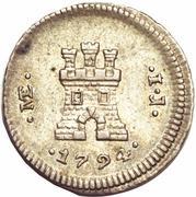 ¼ Real - Carlos IV (castle) – reverse