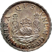 1 Real - Fernando VI (Colonial Milled Coinage) – reverse