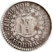 ½  Real (South Peru) – reverse
