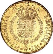 8 Escudos - Fernando VI (Colonial Milled Coinage) -  reverse