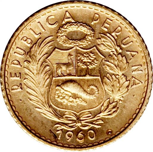 5 Soles Oro Peru Numista